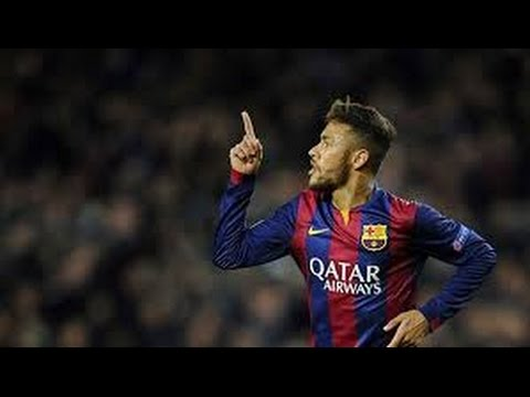 Neymar Jr ● All 9 goals in Champions League (2014-2015)