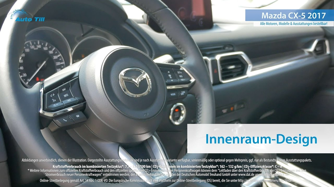 2017 mazda cx 5 interieur innenraum design 4k uhd for Innenraumdesign studieren
