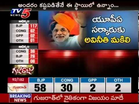 Special Program on Modi Hattrick in Gujarat (TV5)