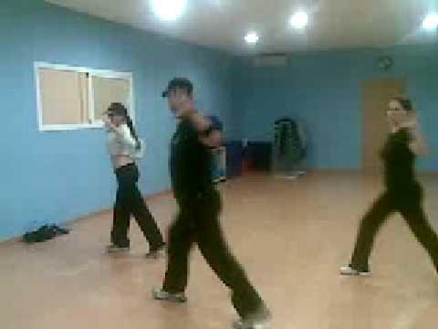 Tanzen Batuka schlank mit