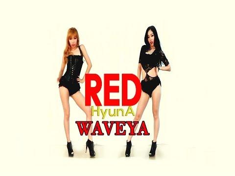 Waveya HYUNA RED (빨개요) kpop cover dance