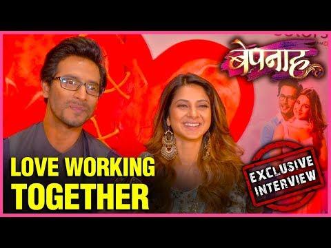 Jennifer Winget And Sehban Azim Love Working TOGETHER - EXCLUSIVE Interview | Bepanaah