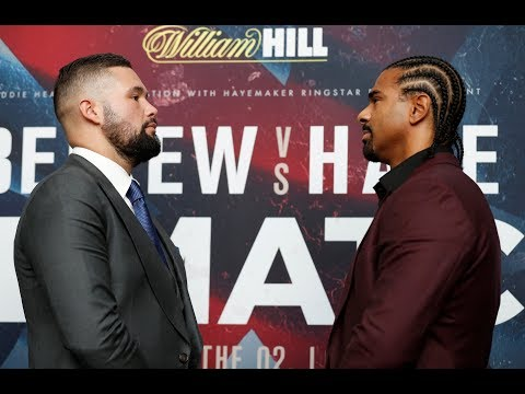 Bellew vs Haye 2, fight week launch press conference