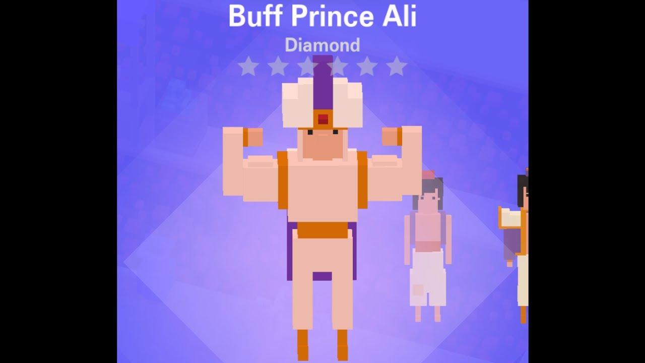 disney crossy road buff prince ali diamond character youtube