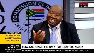Zuma's claims and revelations at State Capture: Mzwandile Mbeje