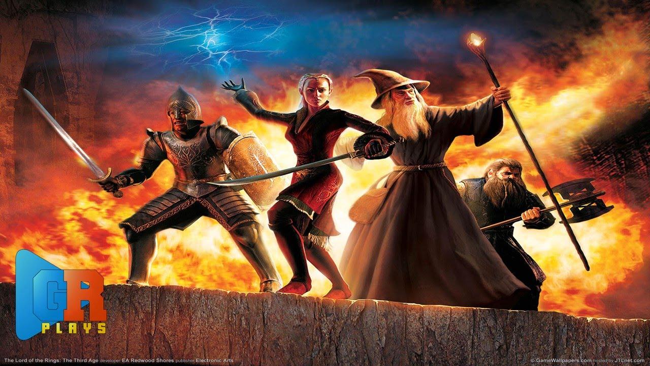 O Senhor Dos Anéis - A Terceira Era ( PS2 ) - YouTube