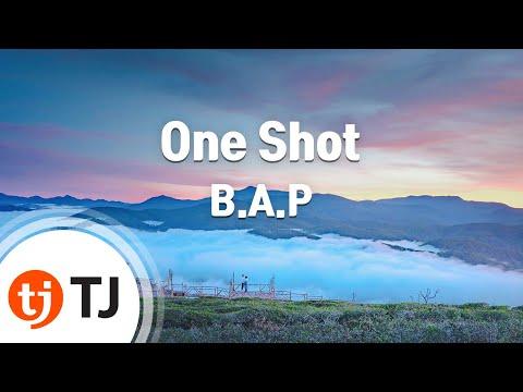 One Shot_B.A.P_TJ노래방 (Karaoke/lyrics/romanization/KOREAN)