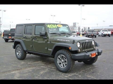 2015 jeep wrangler unlimited rubicon for sale dayton troy piqua sidney ohio 27267t youtube. Black Bedroom Furniture Sets. Home Design Ideas