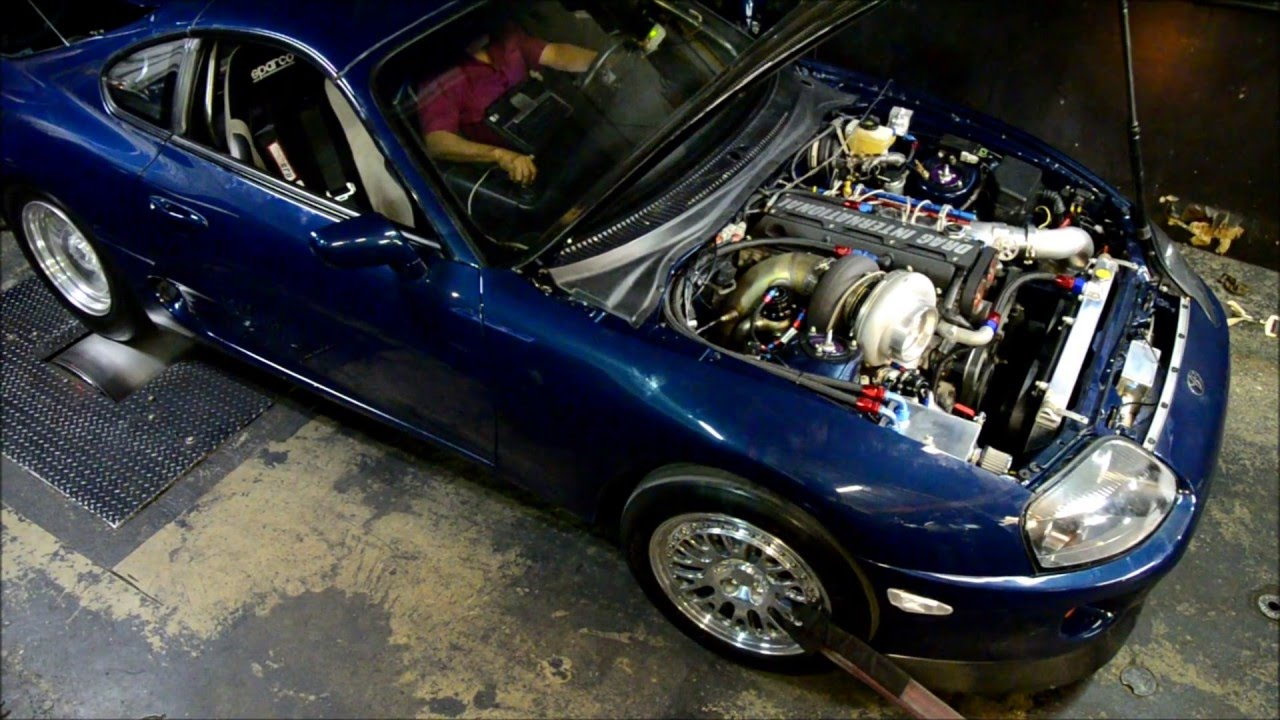 Toyota Parts | 1342 HP Toyota Supra Turbo For Sale - Drag