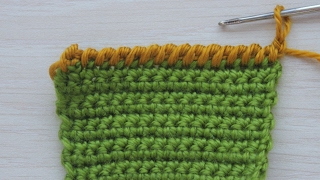Вязание крючком. Урок 16.2 - Рачий шаг (2 способ) | Crochet for beginners. Rachy step (2 way)