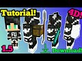 How To Import Your Own Custom Skin In A 4D Skin Pack Minecraft PE 1 5 1 5 2 PATCHED mp3