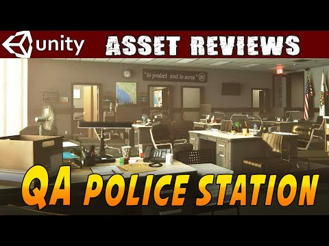 Unity Asset Reviews - QA Police Station from QAtmo