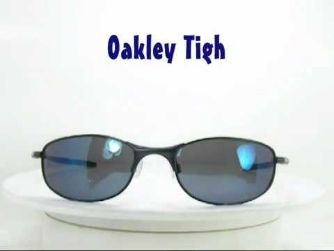 813c58f0971 Oakley Tightrope OO4040-05 Polarized Sunglasses - YouTube