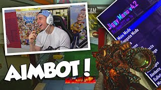 GIVING PEOPLE AIMBOT WITHOUT TELLING THEM! (BO2 Aimbot Trickshotting)