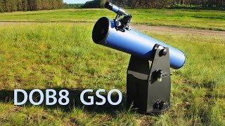 Обзор телескопа Delta Optical GSO Dobson 8