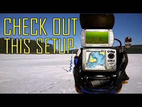 Ultimate Hole Hopping Ice Fishing Setup!