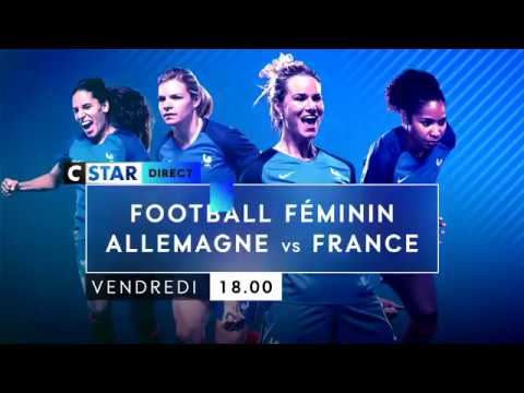 Bande Annonce - Football Féminin - Allemagne / France