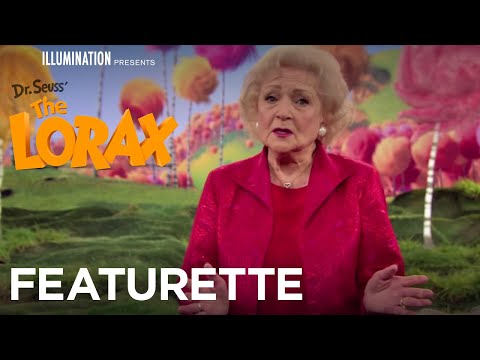 Behind the Scenes - Betty White on Grammy Norma | The Lorax | Illumination