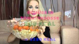 Full day of eating - WHAT I ATE - WAS ICH ESSE - Raw Till 4 - HCLF- vegan - 80/10/10 - 3000+ kcal