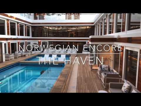 Norwegian Encore- The Haven