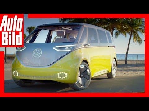 Download VW I.D. Buzz Concept Car  (2017) Erste Fahrt/Details/Erklärung