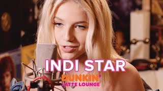 Indi Star Performs At The Dunkin Latte Lounge