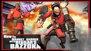 TF2: How to market garden with Beggar's Bazooka #2 [Epic WIN]