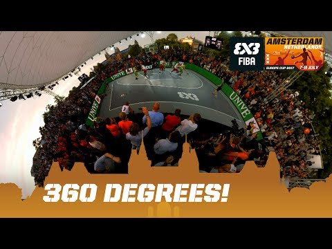 Latvia vs. Slovenia in 360 Degrees! FIBA 3x3 Europe Cup 2017 Final