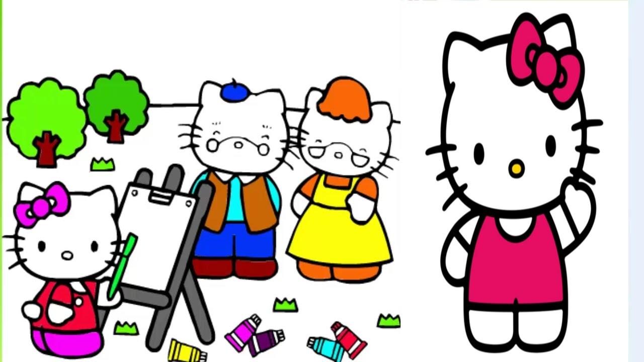 Hello Kitty Boyama Oyunu Hello Kitty Cizimi Hello Kitty Izle Hello Kitty Oyunlari Hello Kitty Turkce Youtube