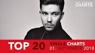 TOP 20 SINGLE CHARTS ▸ 1. SEPTEMBER 2018