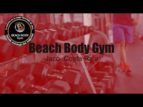 Beach Body Gym:  Jacó, Costa Rica
