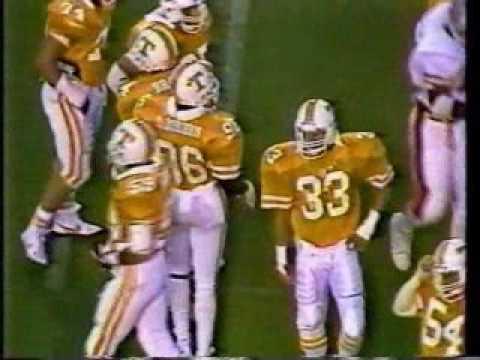 Univ of New Mexico vs Univ of Tennessee 9/6/1986
