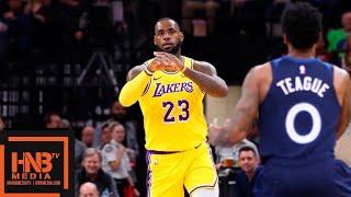 Los Angeles Lakers vs Minnesota Timberwolves 1st Qtr Highlights | 10.29.2018, NBA Season