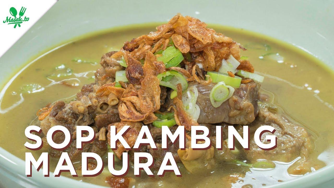 Resep Sop Kambing Madura