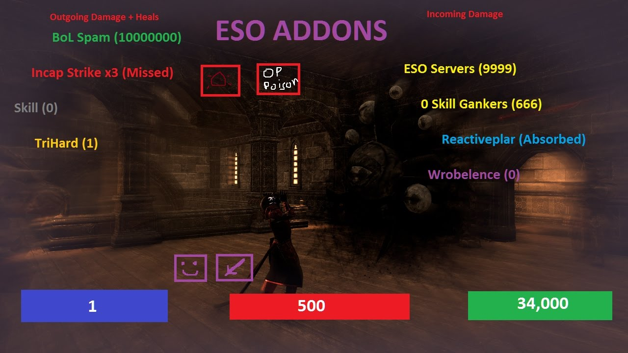 how to install add ons in eso