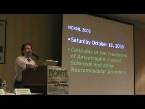 Dr. Greg Carter at NORML CON 2008 Marijuana and Health Panel