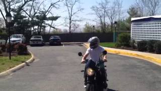 buell blast with vance and hines exhaust