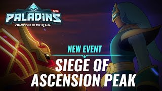 Paladins - New Event: Siege of Ascension Peak