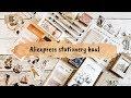 Aliexpress Haul  stationery | Felia Goovaerts
