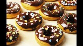 Пончики с Шоколадной Глазурью. Просто Объедение!