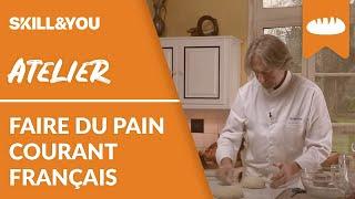 Faire du pain - Le pain courant français par Jean-Luc Poujauran