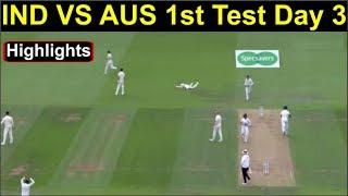 IndVsAusTestSeries #Highlights #HeadlinesSports Ind Vs Aus 1st Test...