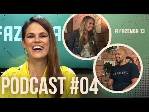 Adriane Galisteu revela spoiler e fala da expectativa para a estreia   Podcast A Fazenda 13