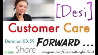 Customer care funny calls with desi boy (punjabi)
