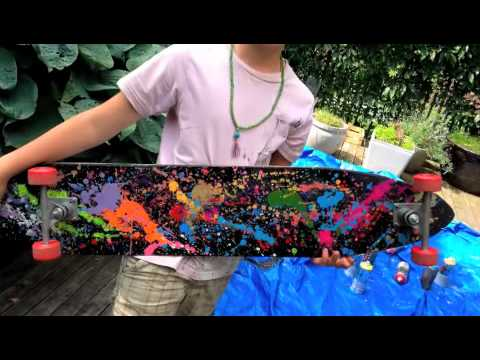 Make your own long penny board youtube for Create your own penny