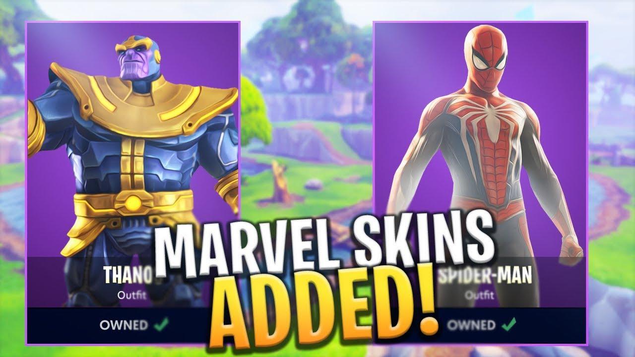 new thanos skin free and marvel avengers infinity war event ltm fortnite battle royale - avengers x fortnite skins