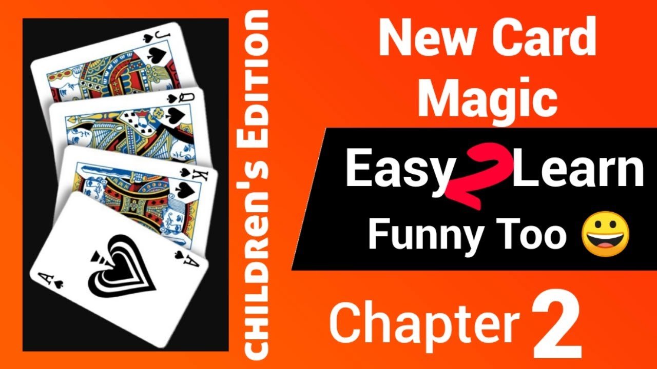 easy card magic you can learn in 5 minutes children's