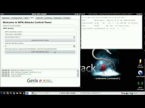 WPA Cracking With GERIX In 3 Minutes