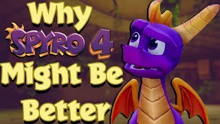 Why THE NEW Spyro 4 MIGHT Be Better Than Spyro Reignited