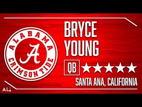 Alabama 2020 Signee: Bryce Young Highlights